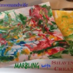Marbling with Shaving Cream