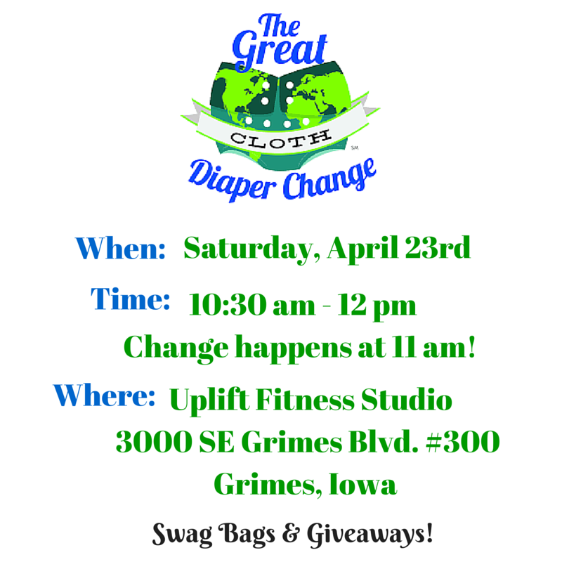 Central Iowa Great Cloth Diaper Change 2016