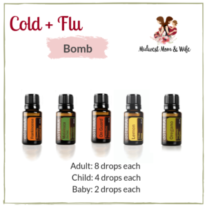 Doterra Essential Oils, Cold, Flu